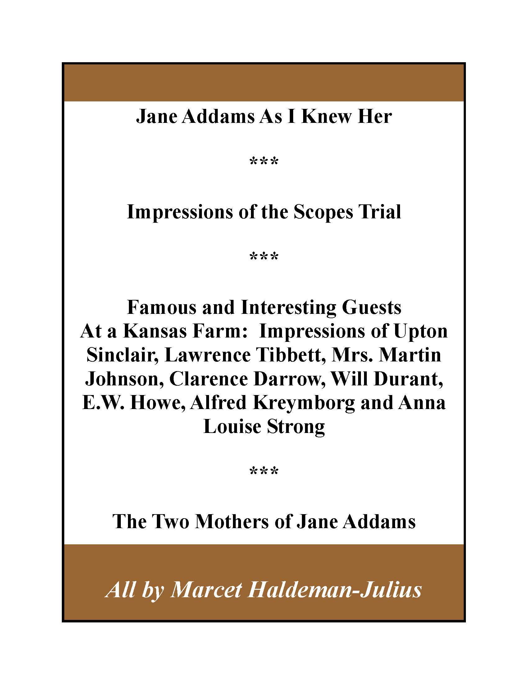 """schopenhauers essays haldeman-julius Art features heavily in arthur schopenhauer's """"will and representation"""" schopenhauer had a complex and nuanced view of art's profound effect on humanity and that effect's importance to our everyday lives his view does not however, exist in a vacuum it is an integral part of his."""